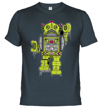 camisetas Robots T-Shirt Bots Robot Boobs
