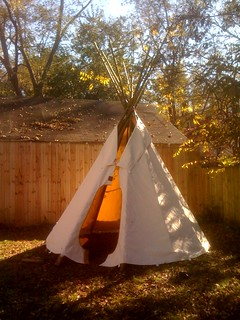 Our Backyard Tipi | by akbrouwer