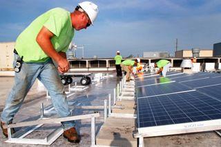 Niagara Frontier Transportation Authority - Buffalo, NY   by Solar Liberty