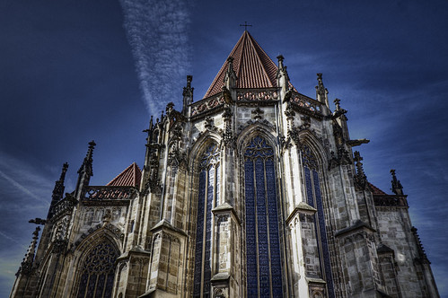 St.Lambertikirche, Münster | View from the back. Canon EOS ...
