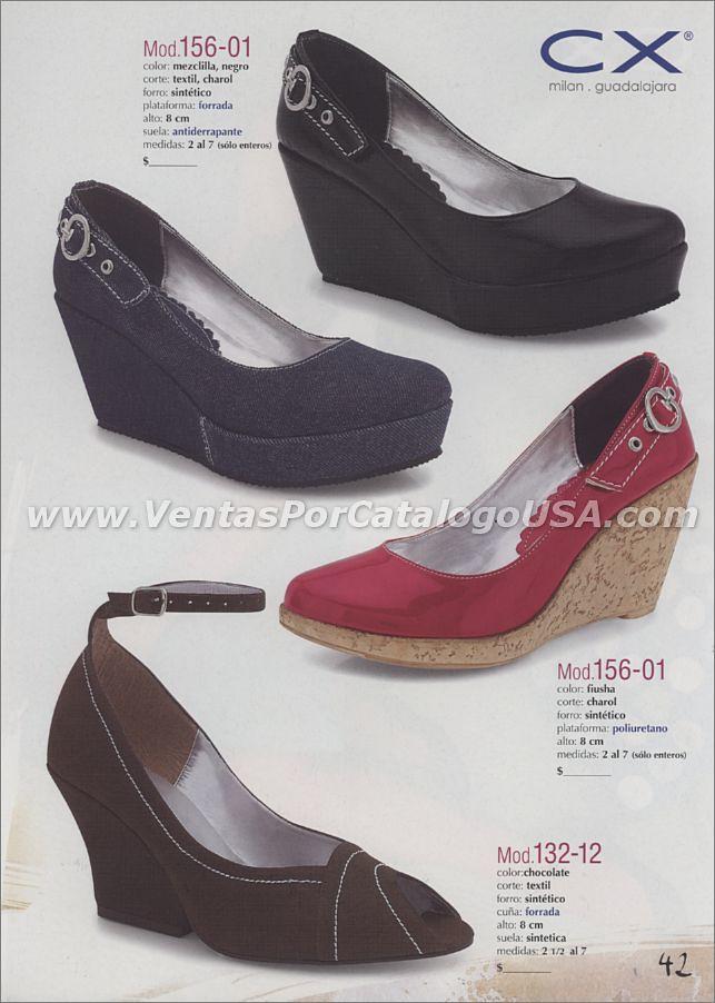 b6d4a21932718 ... Calzado para mujer con plataforma 2011 por catalogo shoes zapatos  online ofertas de trabajo en casa