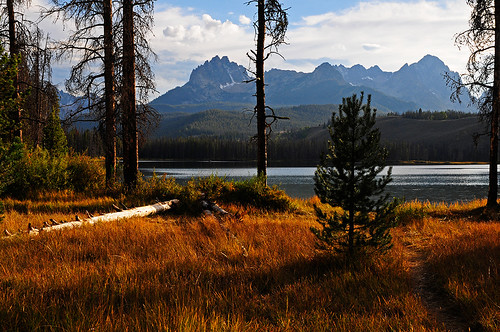 lake mountains nature landscape outdoors nikon scenic idaho sawtooths stanleybasin d300s