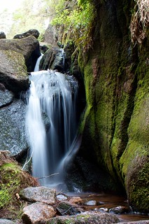 Burn o' Vat falls | by Nick Bramhall