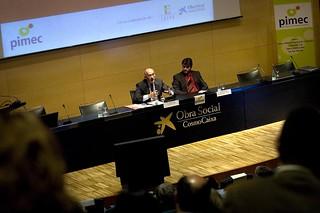 Financiapyme (28/04/2011), el fòrum empresarial de finançament per a la pime, organitzat per PIMEC a l'Auditori de CosmoCaixa, ha comptat amb l'assistència de més de 250 empresaris i empresàries de pimes d'arreu de Catalunya