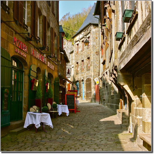 Rue du petit fort - Dinan - Bretagne