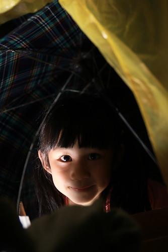 練習筆記(六):閃燈在小幸福旁,相機左邊,朝上直打。   by PipperL