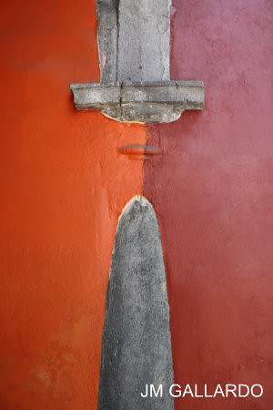 Tlaxcala - La columna embebida
