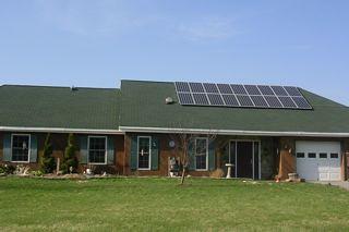 Delevan, NY residential solar installation   by Solar Liberty
