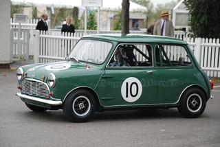 Austin Mini Cooper S 1964 - Darren Turner - St. Mary's Trophy