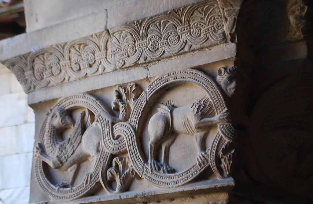 Elne (Pyrénées orientales), le cloître de la cathédrale (65)