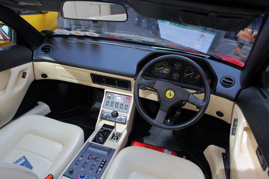Ferrari Mondial Qv Cabriolet Pininfarina Interior Dash Flickr