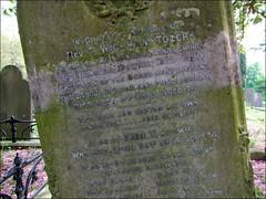Rev T Wickham Tozer's grave: the Akenham Burial Case