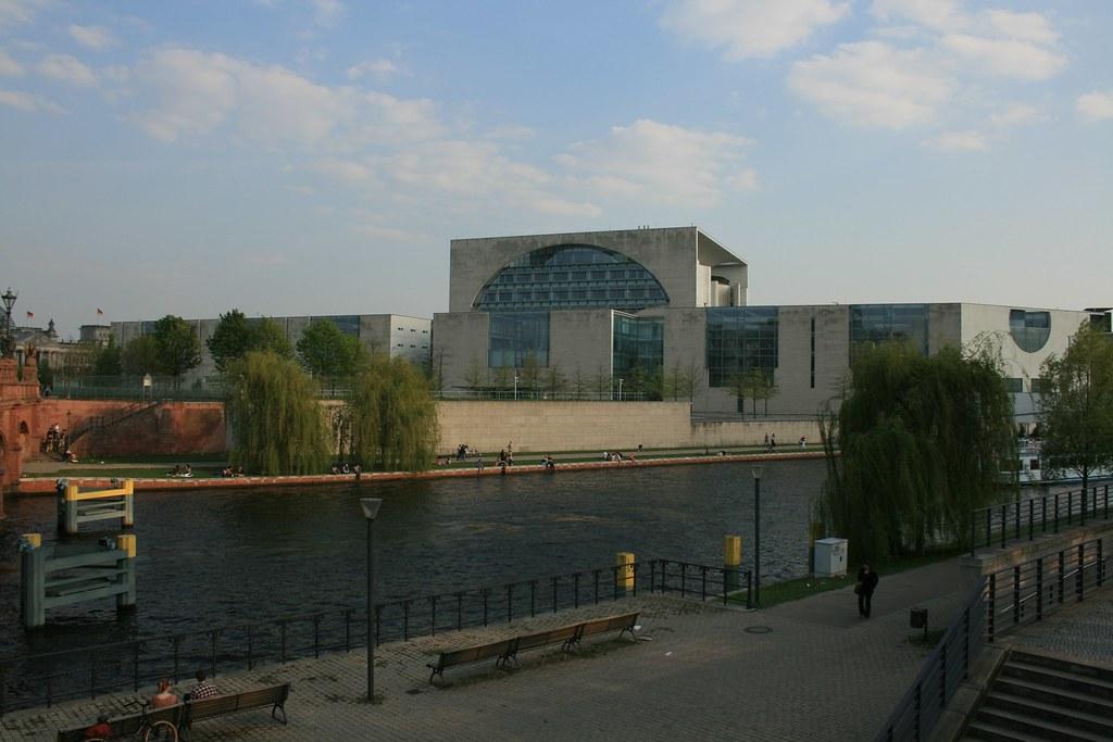 Bundeskanzleramt! The Federal Chancellery