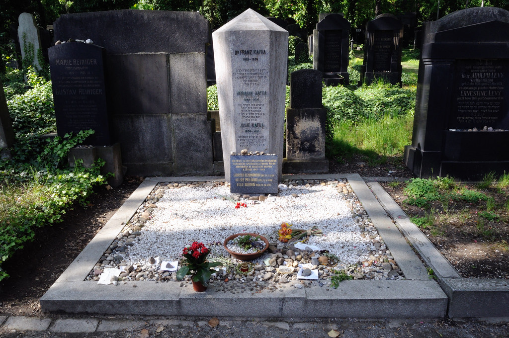 Resultado de imagen para Franz Kafka tumba