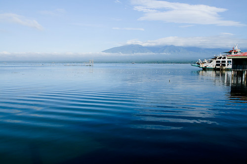 travel summer del countryside asia philippines destination barge seaport norte mindanao ozamis mukas lanao