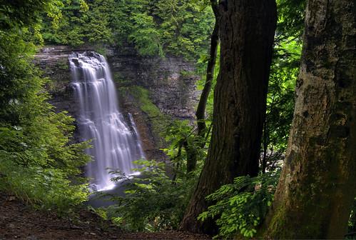 ny photography waterfall hiking upstate glen trail waterfalls gorge hiker salmonriver tughill gully brettmaurer