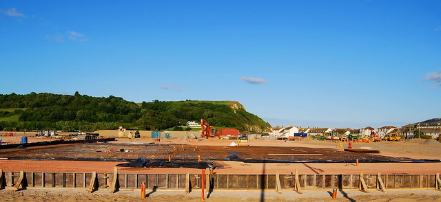 The footprint of Seaton Tesco Beginning to appear