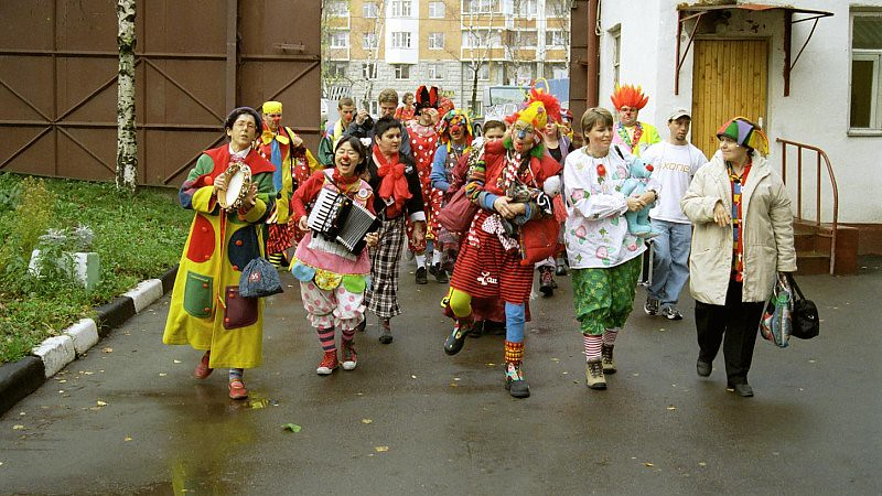 Clown Visit 1(John Glick/Russia Clown Trip 2004)