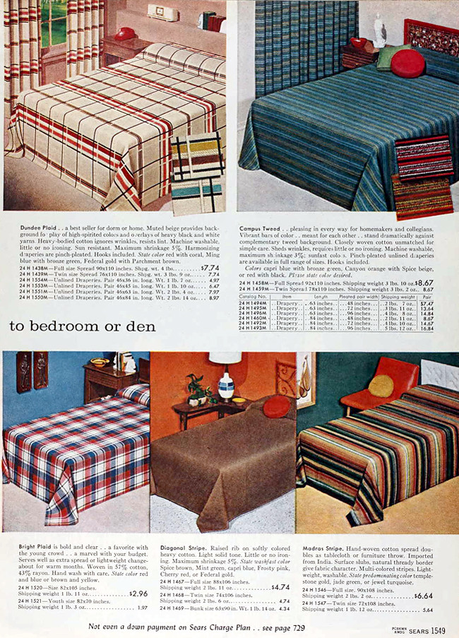Sears 1960 Fall Catalog | Bedroom furniture, bedding | Flickr