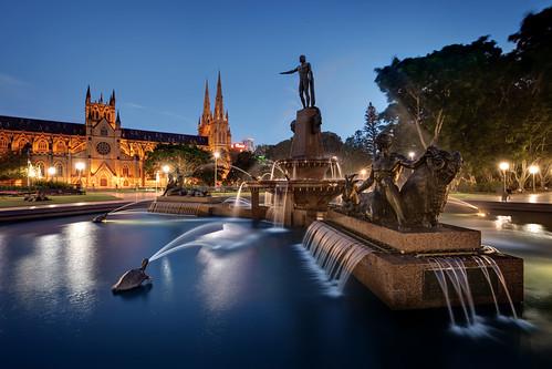 JF Archibald Memorial Fountain