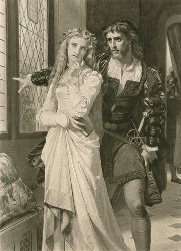 """Hugues Merle (French, 1823-1881), """"Hamlet and Ophelia""""   by sofi01"""