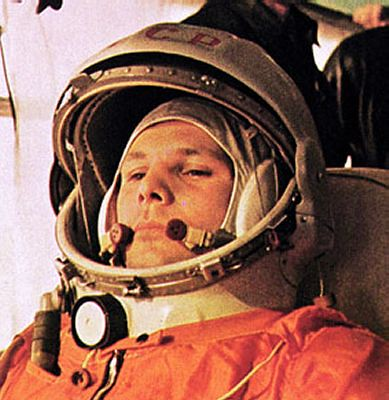 Yuri Gagarin, suited | Taken from here, this is a picture of… | Flickr