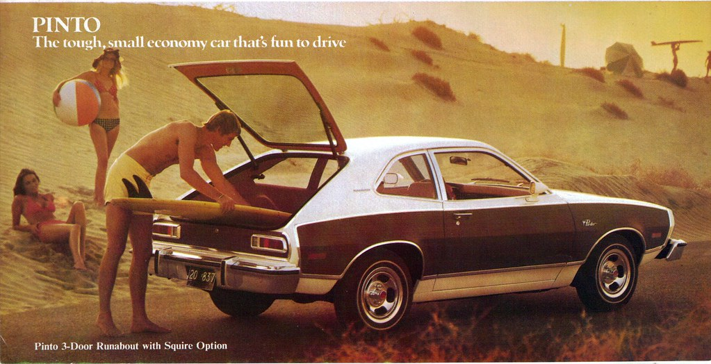 1976 Ford Pinto 3 Door Runabout With Squire Option Flickr