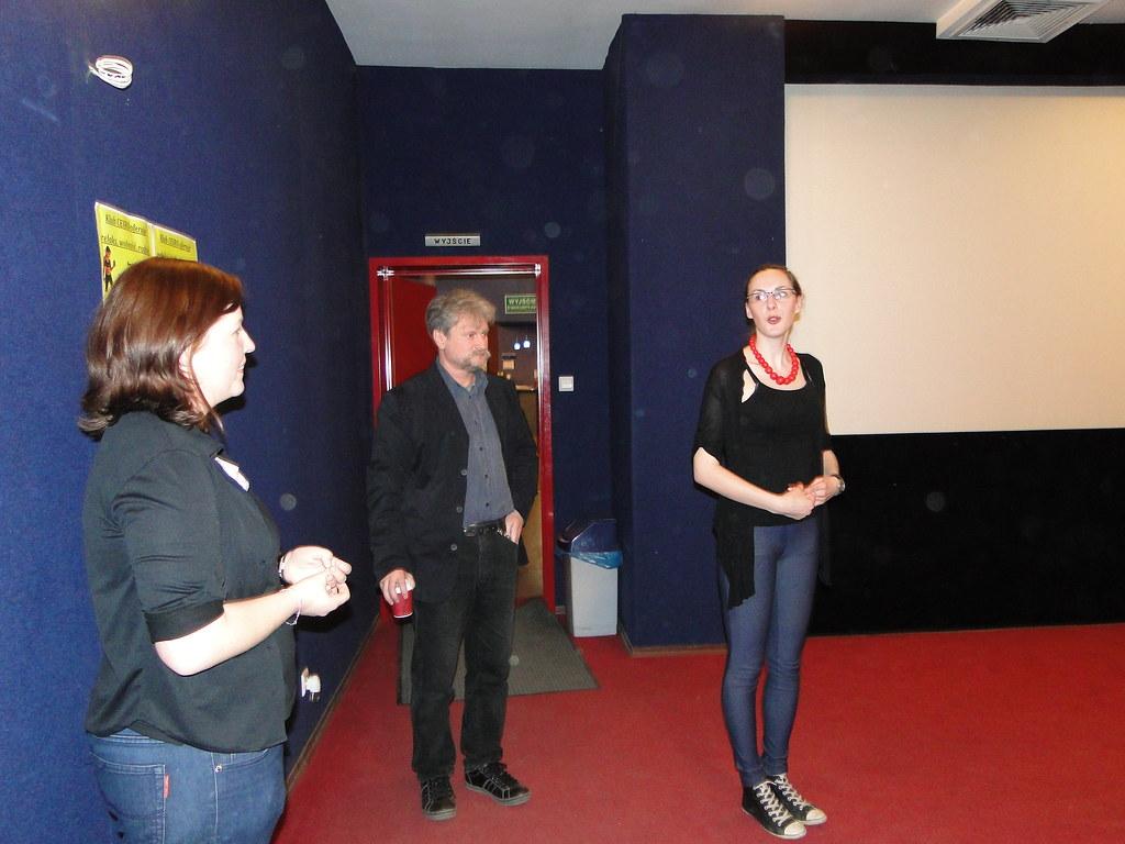 Piotr Zarębski, spotkanie z młodzieżš w kinie Charlie