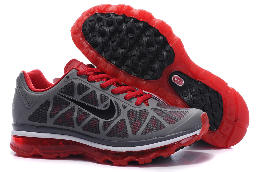 Nike Air Max 2011 Men Grey Red White | Flickr