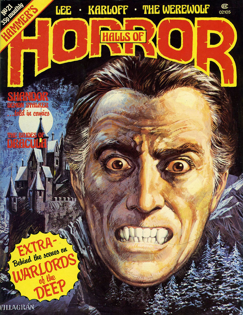 The House Of Hammer house of hammer magazine (halls of horror) - issue 21 (198