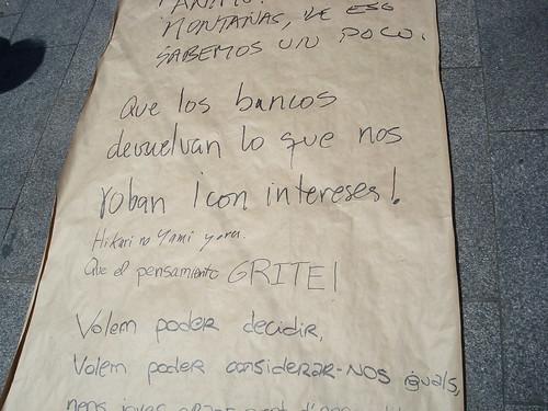 Poema colectivo en #acampadasol | by Lord Jerome