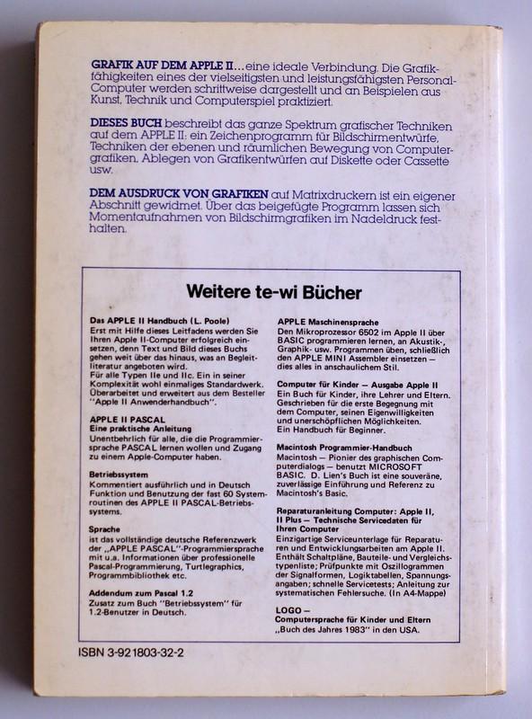 Buch: Apple II – Bewegte 3D Graphik