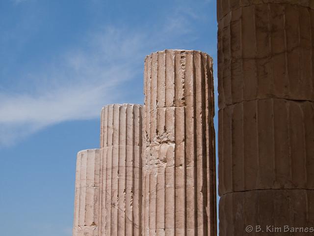 Acropolis, columns