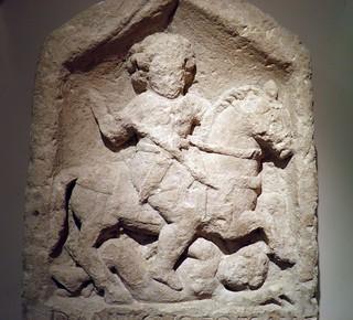 Tombstone of Dannicus (detail), Corinium Museum (Cirencester)