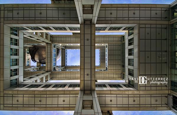 """Unorthodox"" Fuji TV Building, Tokyo, Japan"