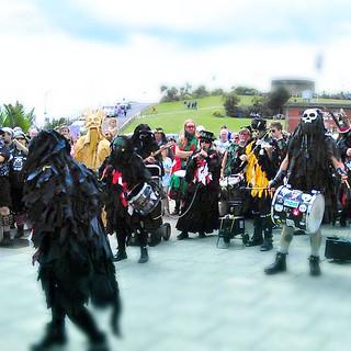 Eastbourne Lammas Festival.2015. Mythago.