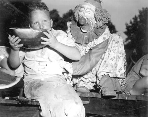 Watermelon eating contest - Leesburg | by State Library and Archives of Florida
