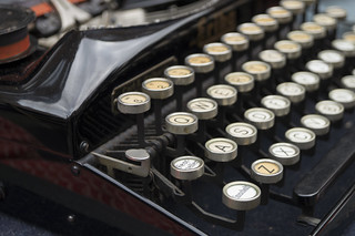 Máquina de escribir alemana Erika   by Sigmar