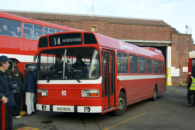 127/KCG627L Leyland National,Alder Valley