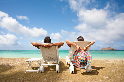 couple vacation relax hawaii | by *michael sweet*