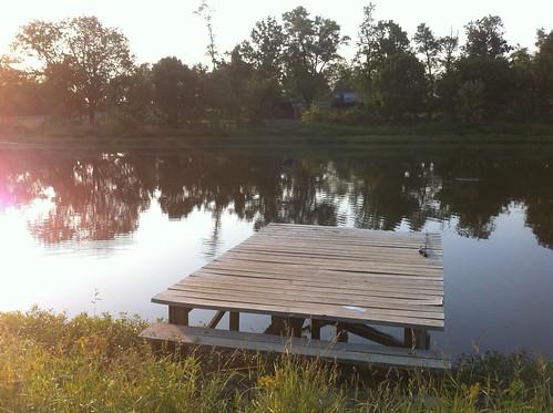dock pond farm senset