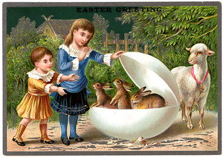 Victorian Easter Card | by gr8plunder