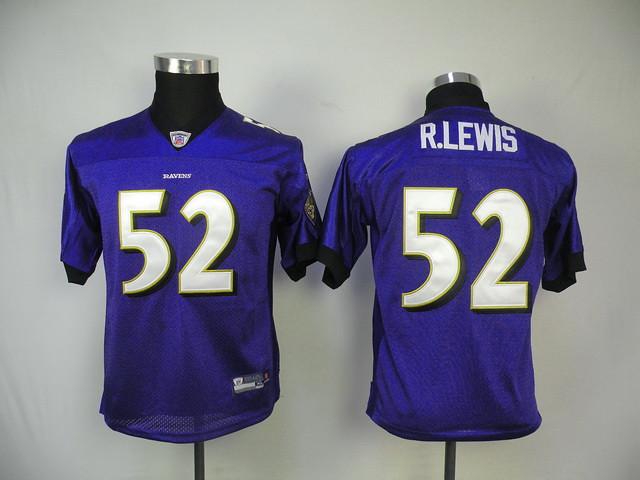 new arrival 566f0 794da NFL Kids Jerseys Baltimore Raven 52# Ray Lewis Purple   Flickr