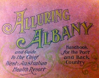 Alluring Albany 1910 edition front page