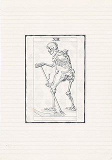 Zavier Ellis 'Black Magic 3', 2010 Pencil on paper 25.2x17.6cm
