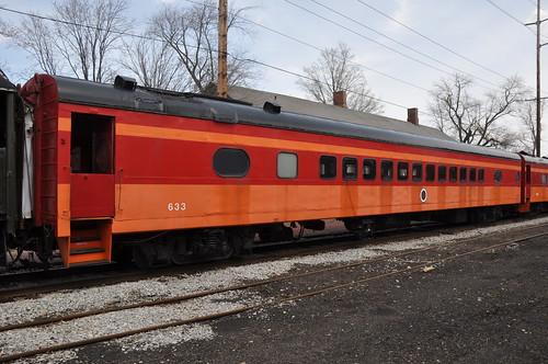 road railroad car river coach little milwaukee passenger hiawatha