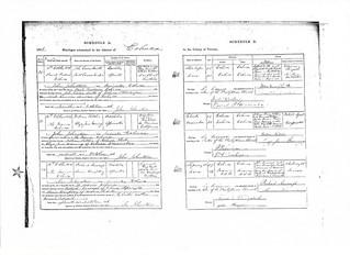 Richard Ainscough Marriage Cert 1876