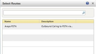 Select PSTN Route | by J&NLee