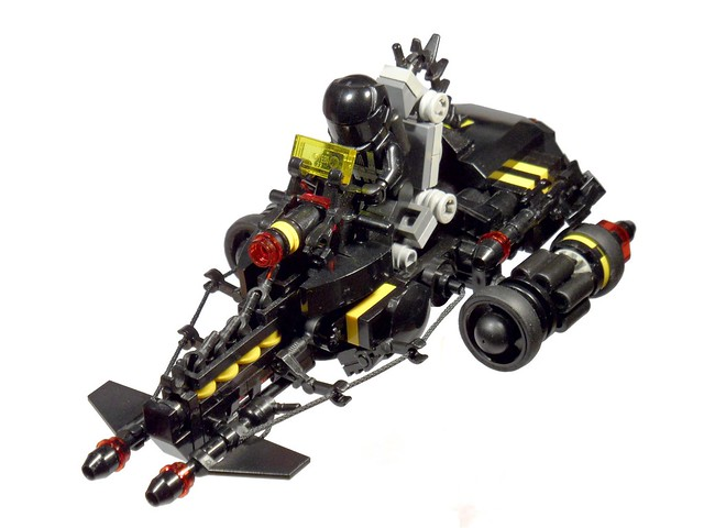 Neo Blacktron I - Alligator [pic.4] (with minifigure)