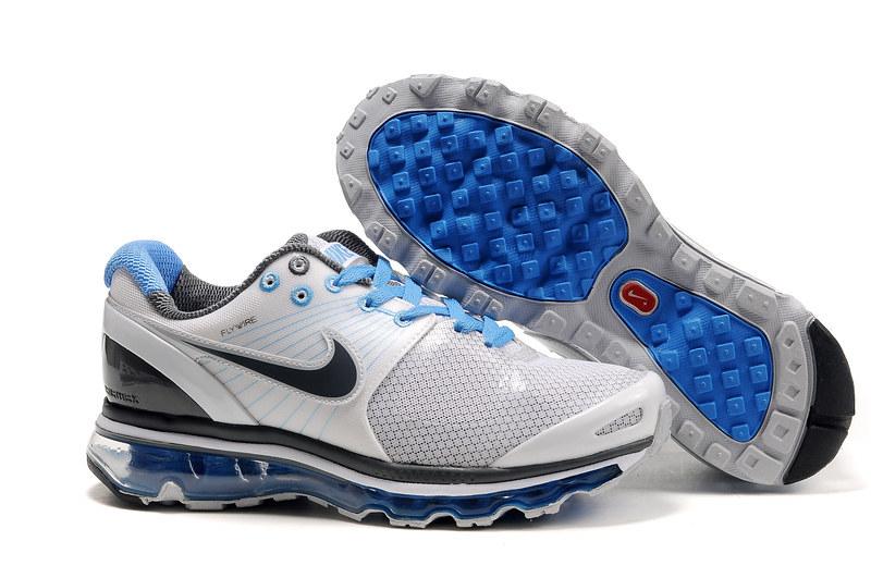 Nike Air Max 2009 Women IV Black Blue Grey White www.airma… | Flickr